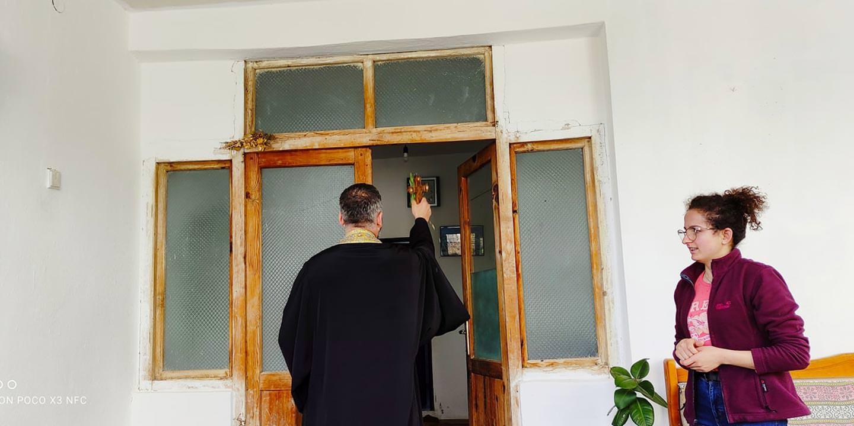 Αγιασμός στο Κουκιάν Αλβανίας