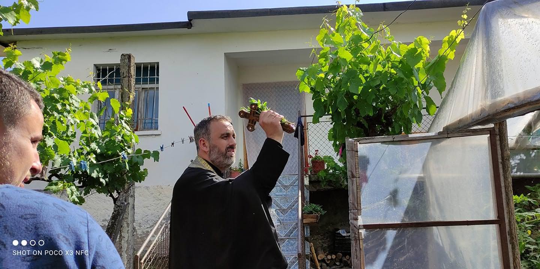 Αγιασμός στο Κουκιάν του Ελμπασάν Αλβανίας