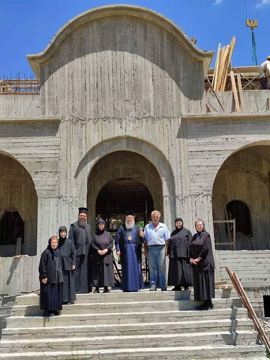 Μοναστήρι Κοσμά του Αιτωλού Αρναίας εργασίες