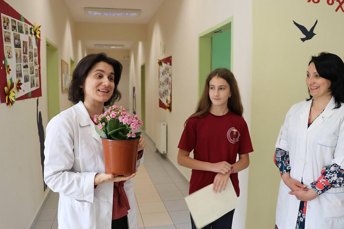 Διαγωνισμός λουλουδιών για παιδιά Αργυροκάστρου