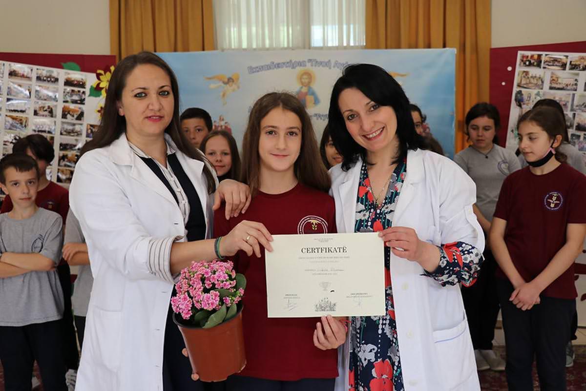 Διαγωνισμός λουλουδιών για παιδιά στην Μητρόπολη Αργυροκάστρου