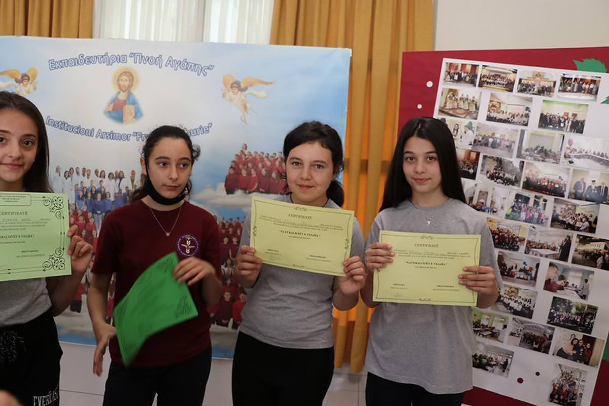 Διαγωνισμός λουλουδιών για παιδιά στην Ιερά Μητρόπολη Αργυροκάστρου 2021