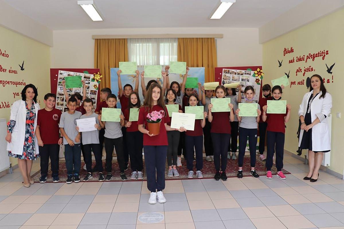 Διαγωνισμός λουλουδιών για παιδιά 2021