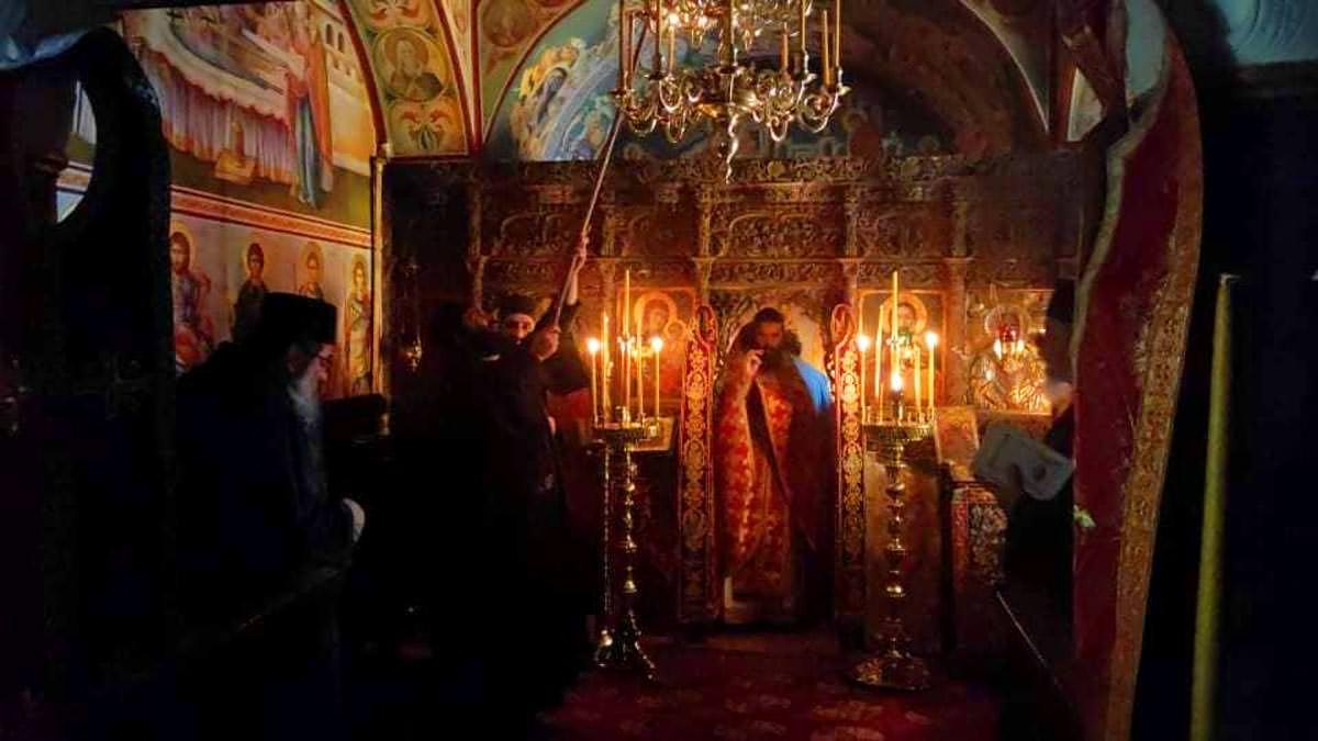 Ιερά Μονή Κουτλουμουσίου Ιερό Κελλί Αγίου Νικολάου Χαλκιά