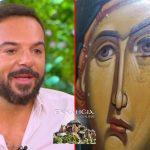 Δακρύζει η Αγία Παρασκευή στον Απόλλωνα Ρόδου