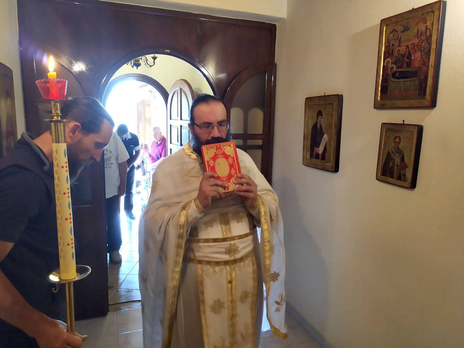Παρεκκλήσι της Αγίας Τριάδος της Μονής Γηρομερίου Θεσπρωτίας