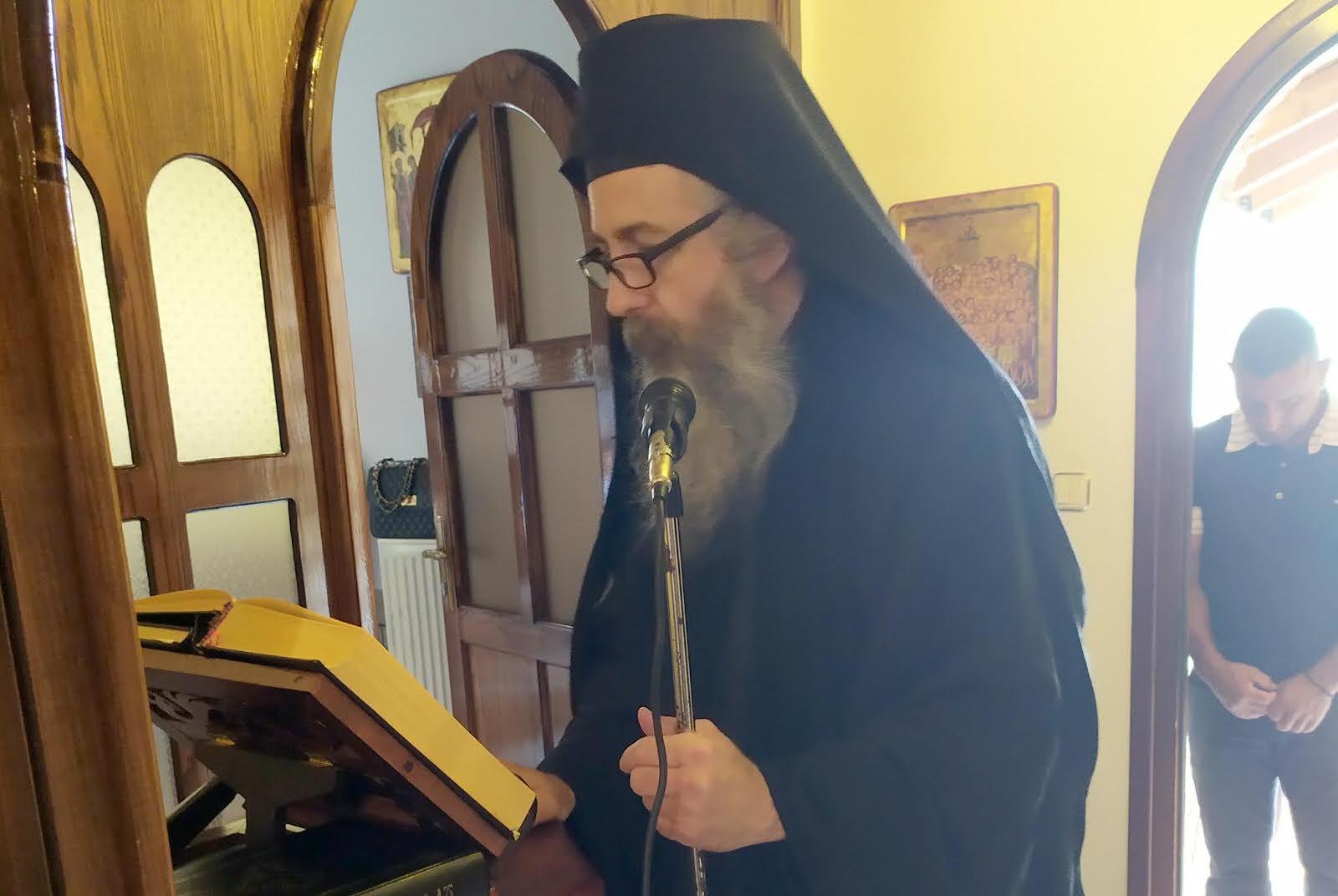 Εορτή Παρεκκλήσι της Αγίας Τριάδος της Μονής Γηρομερίου Θεσπρωτίας