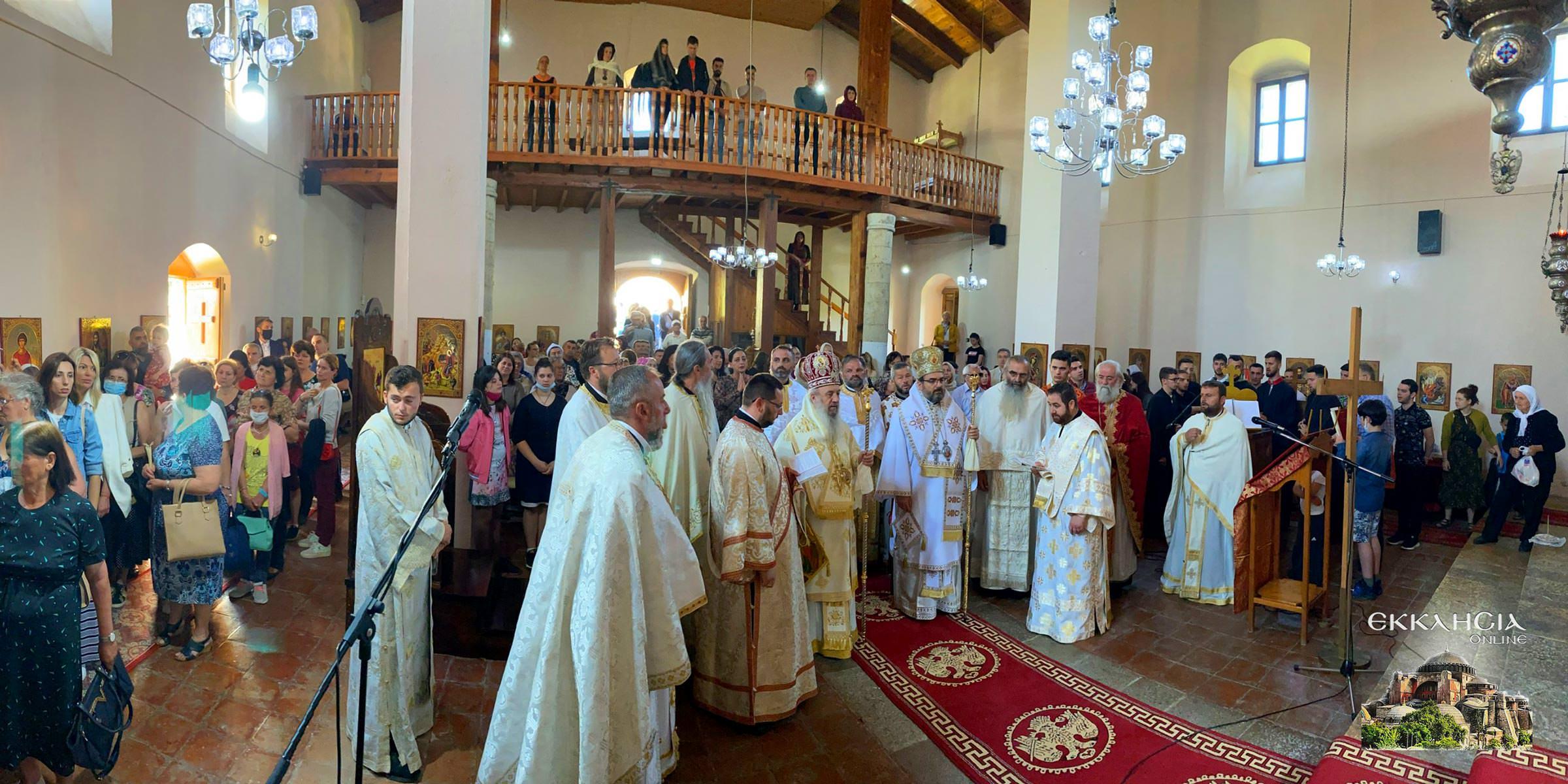 Εορτή Οσίου Ιωάννου του Βλαδιμήρου Αλβανία Ελμπασάν 2021