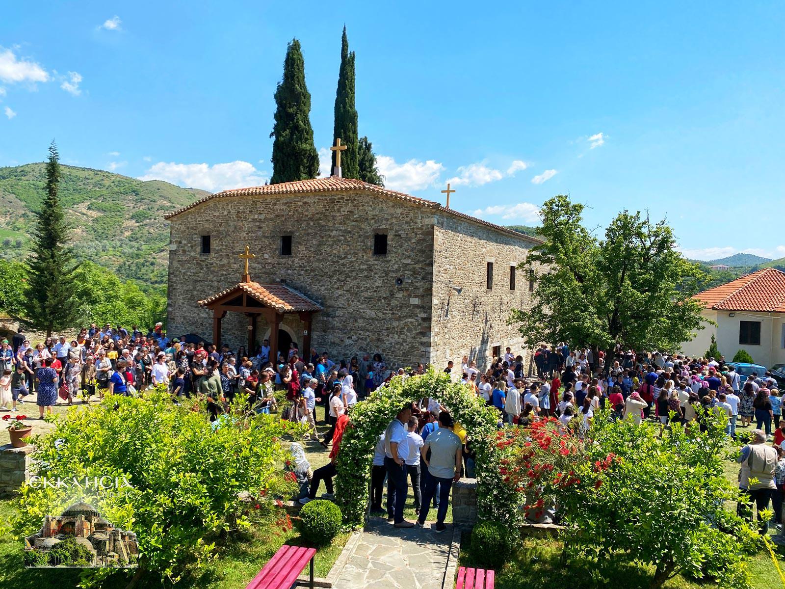 Γιορτή Οσίου Ιωάννου του Βλαδιμήρου Αλβανία Ελμπασάν 2021