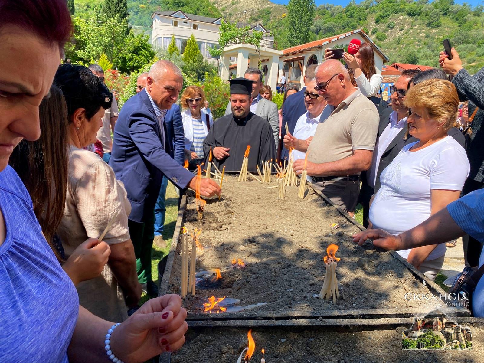 προέδρος της Αλβανίας Ιλίρ Μέτα