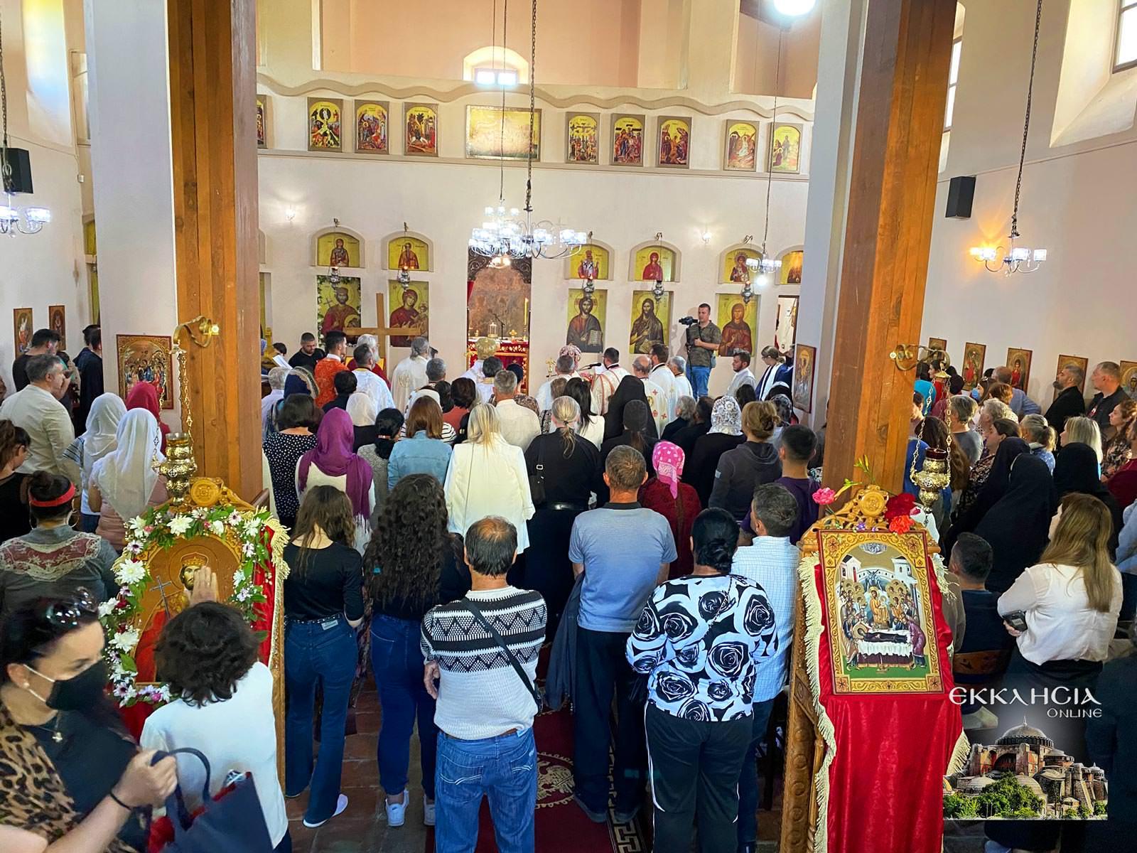 Εορτή Οσίου Ιωάννου του Βλαδιμήρου Ελμπασάν 2021