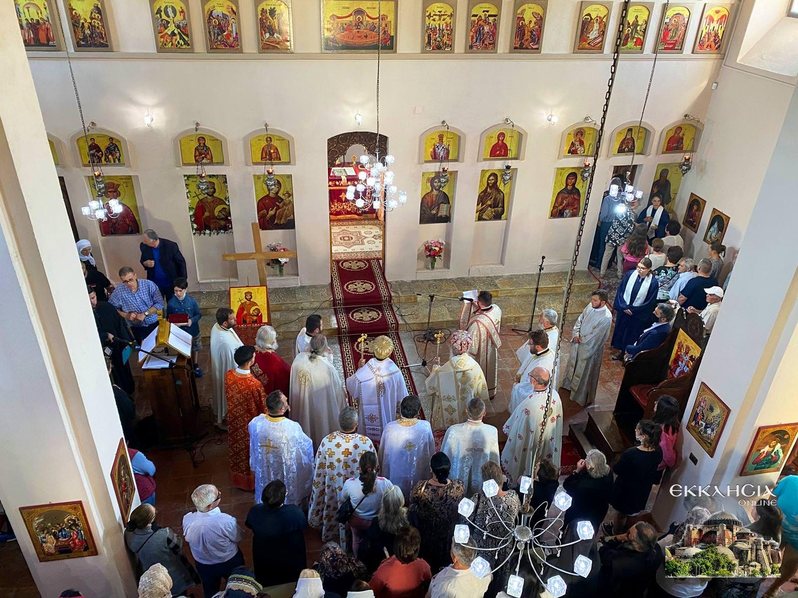 Εορτή Οσίου Ιωάννου του Βλαδιμήρου Αλβανία 2021