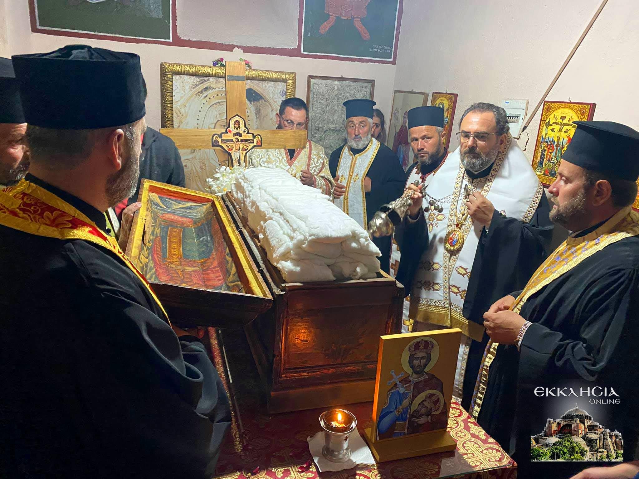 θαυματουργά λείψανα του αγίου Ιωάννου του Βλαδιμήρου Αλβανία