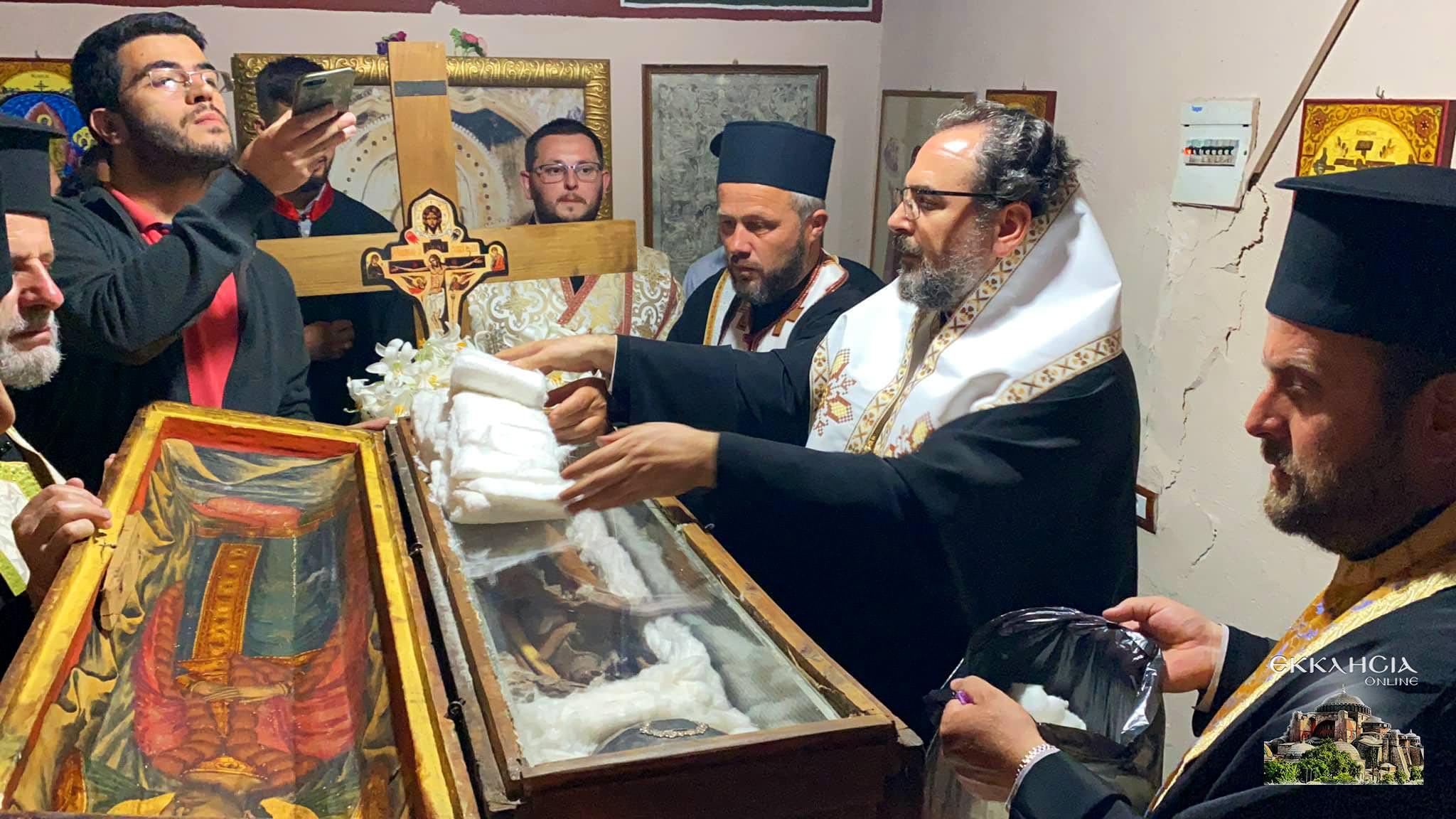 θαυματουργά λείψανα του αγίου Ιωάννου του Βλαδιμήρου Ελμπασάν