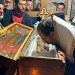 λείψανα του αγίου Ιωάννου του Βλαδιμήρου Ελμπασάν 2021