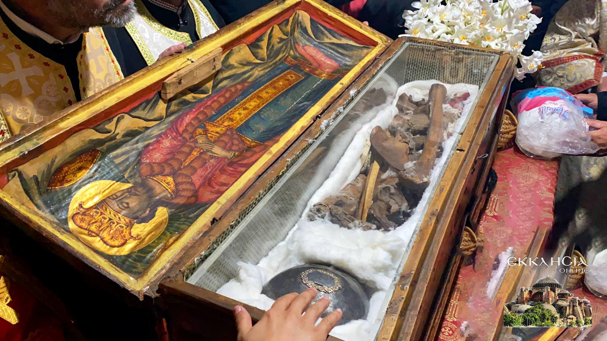 λείψανα του αγίου Ιωάννου του Βλαδιμήρου