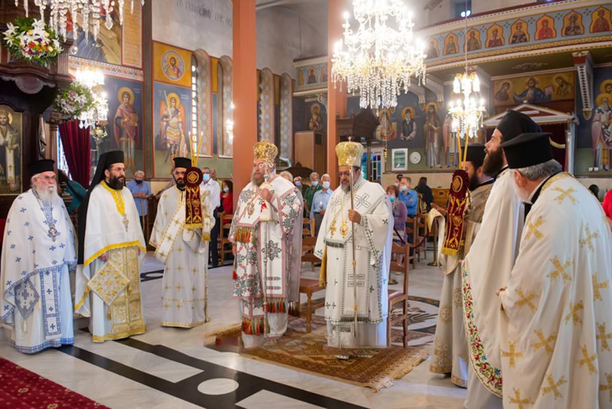 εορτασμός της Αναλήψεως του Χριστού στην Καλαμάτα 2021