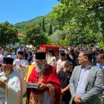 Λιτανεία του Ιερού Λειψάνου του Οσίου Ιωάννου του Βλαδιμήρου Αλβανία 2021