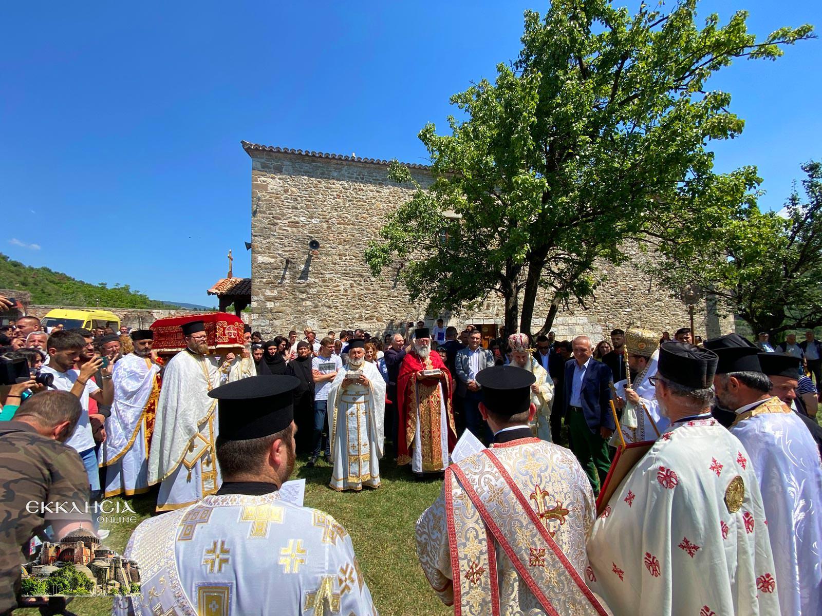 Λιτανεία του Ιερού Λειψάνου του Οσίου Ιωάννου του Βλαδιμήρου Ελμπασάν 2021