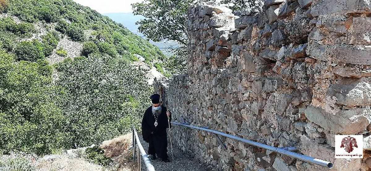 Μοναστήρι Παναγίας Ελεούσης Κούμπαρη Μητροπολίτης Σπάρτης