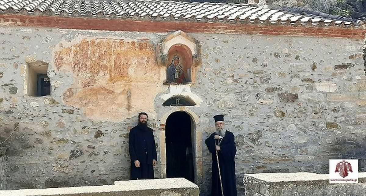 Μοναστήρι Παναγίας Ελεούσης Κούμπαρη Μητρόπολη Σπάρτης
