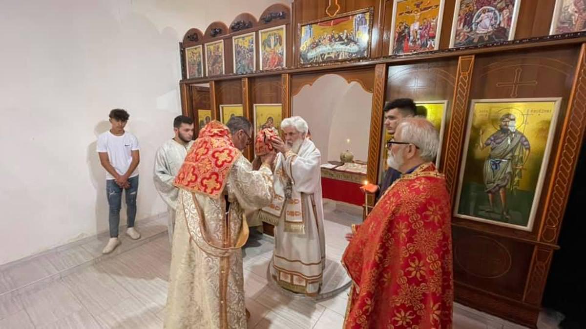Σεκίτσα Φίερι Αλβανίας Άγιος μάρτυρας Τρύφων