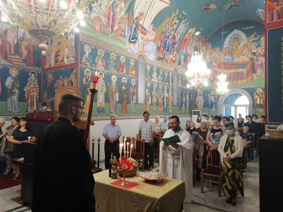 Εορτάστηκε η κοίμηση της Αγίας Άννης στην Εκκλησία της Αλβανίας