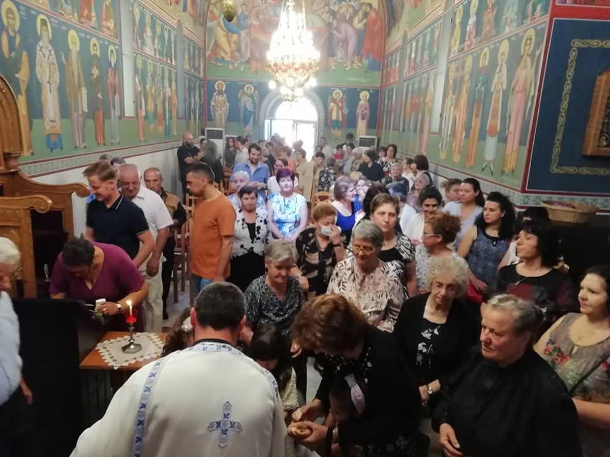 Εορτάστηκε η κοίμηση της Αγίας Άννης στην Αλβανία