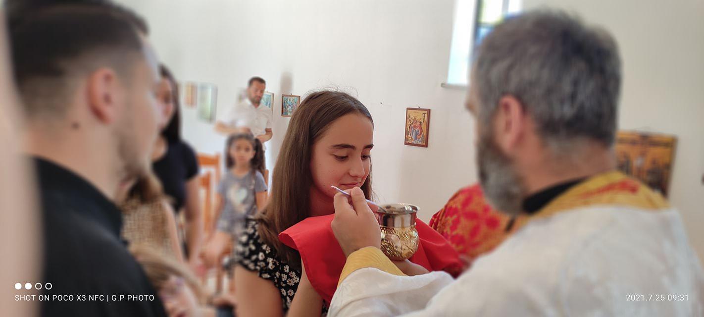 Κοίμηση της Αγίας Άννης στην Αλβανία