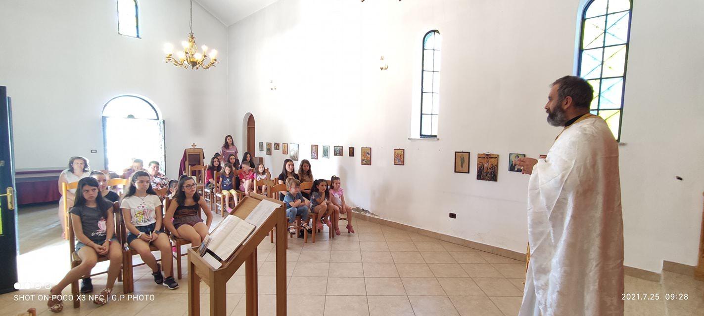 Κοίμηση της Αγίας Άννης στην Αλβανία 2021