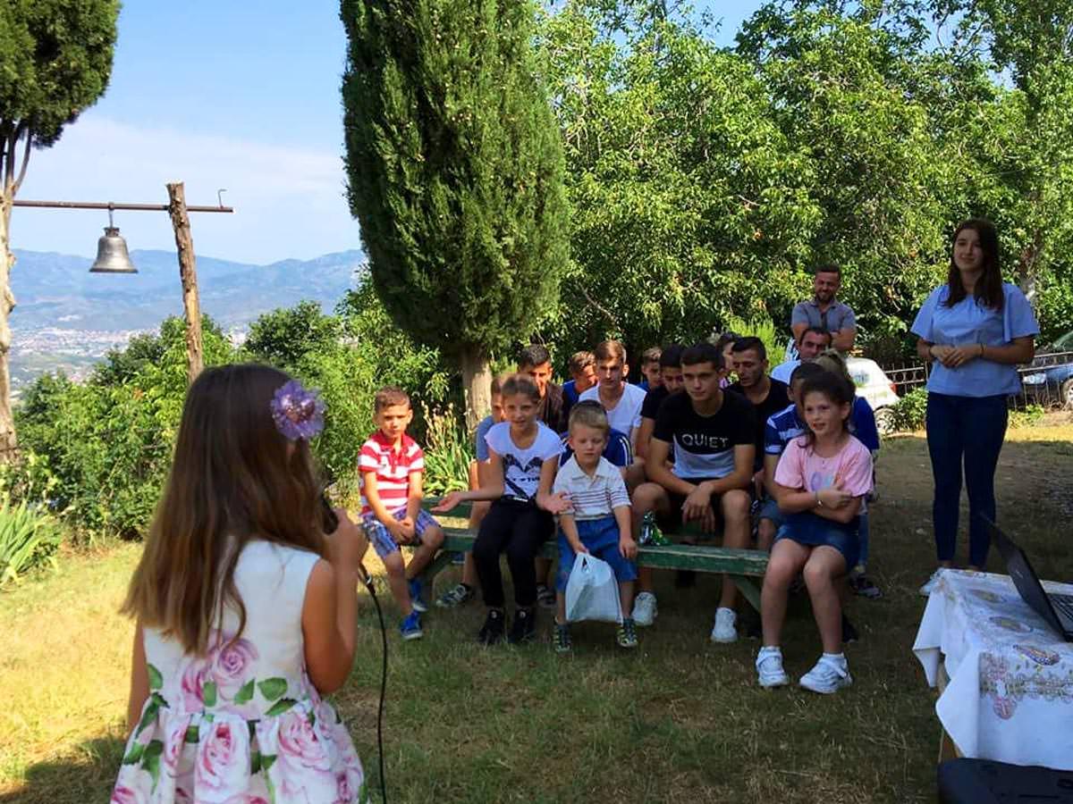 κατασκηνώσεις Ιερά Μητρόπολη Ελμπασάν της Αλβανίας