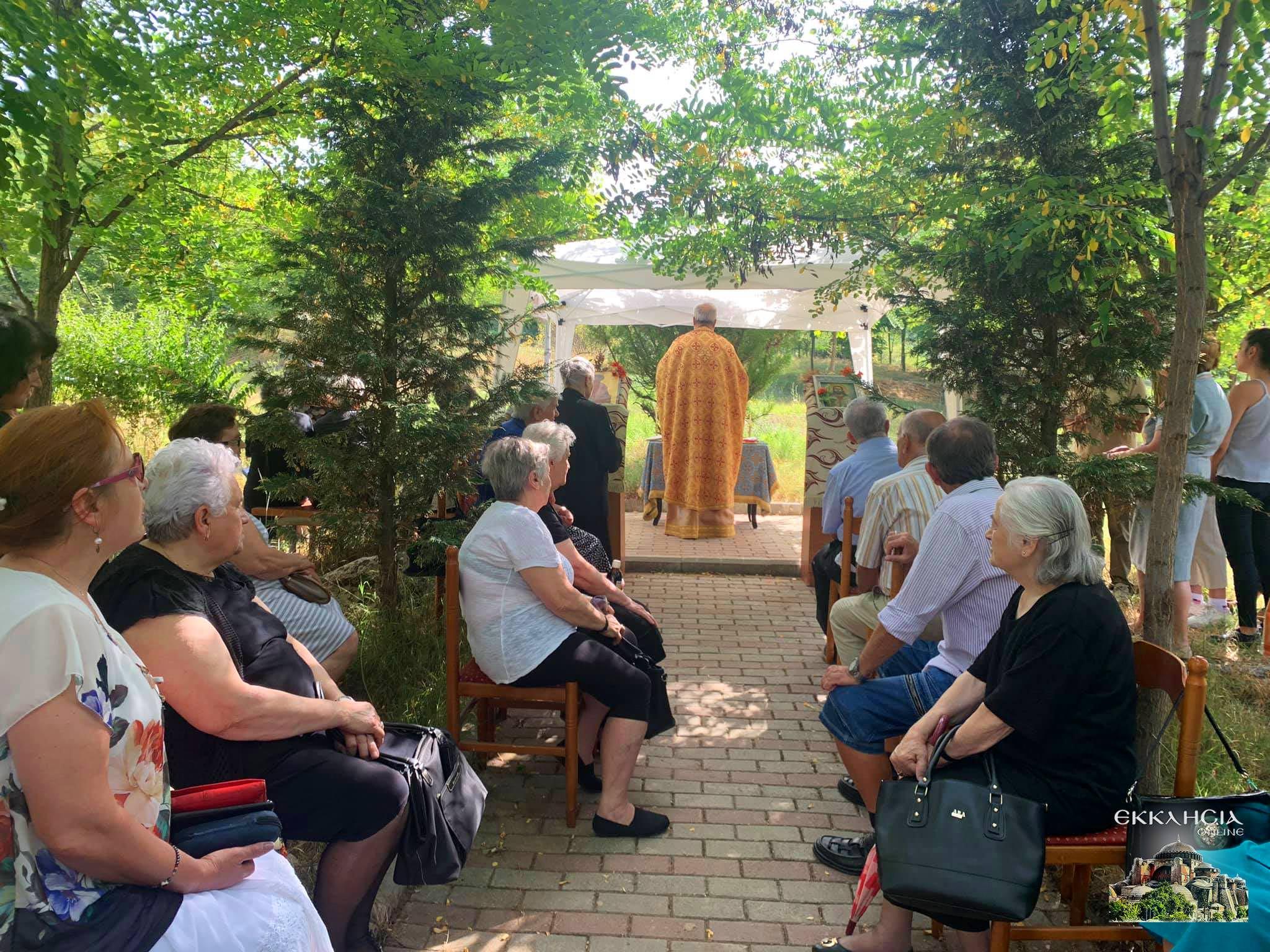 Λειτουργία στην ύπαιθρο Αγίου Παντελεήμονα Κορυτσά