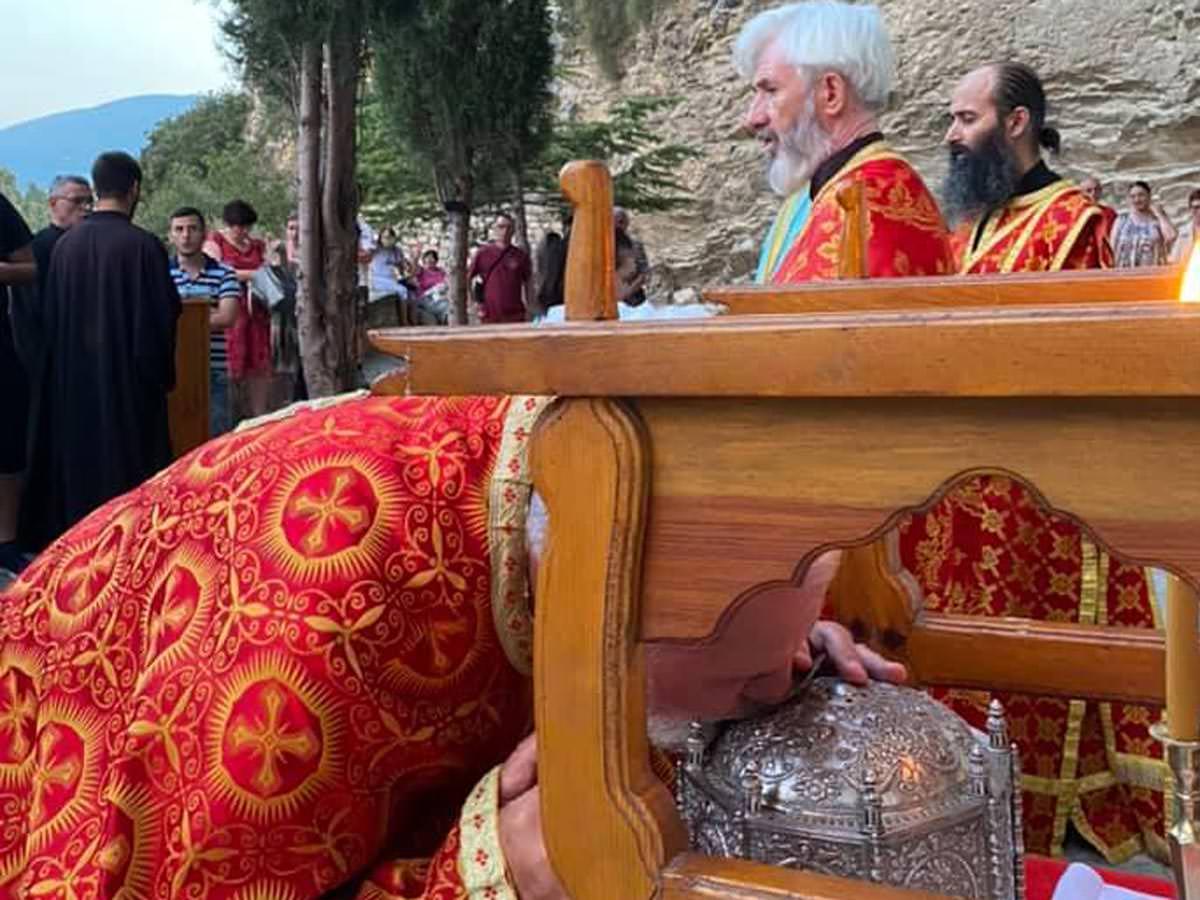 Ιερό Λείψανο Οσίου Νικοδήμου Μπεράτι Αλβανίας
