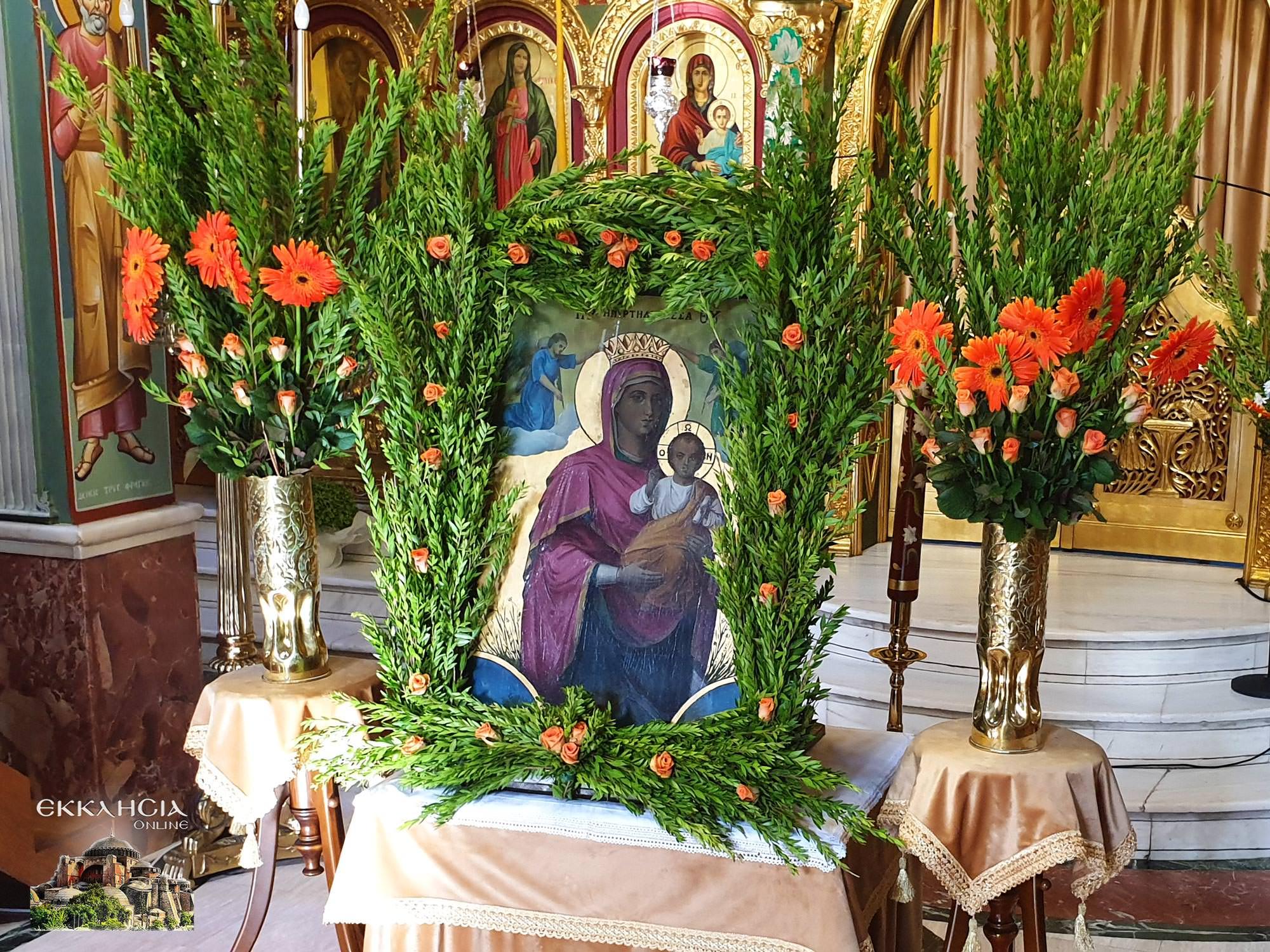 Εικόνα Παναγίας Εκκλησία Αγίας Γλυκερίας