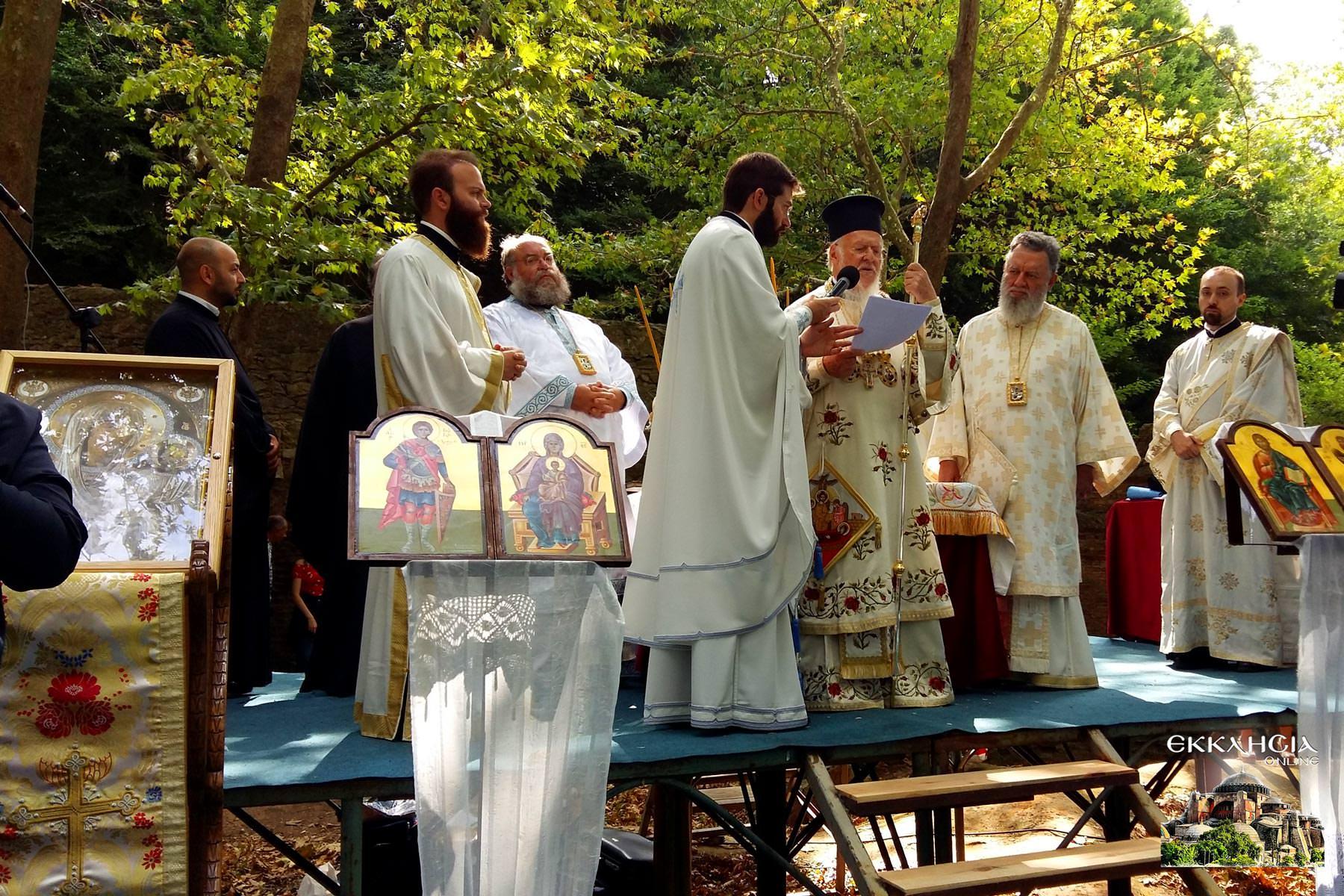 Πανηγυρική Θεία Λειτουργία στην Φανερωμένη Κυζίκου
