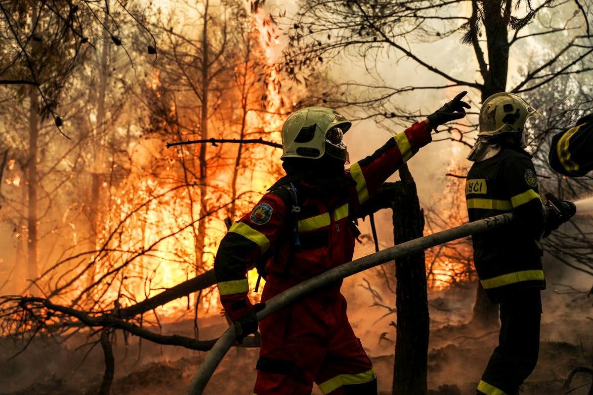 Φωτιά Πυροσβέστες