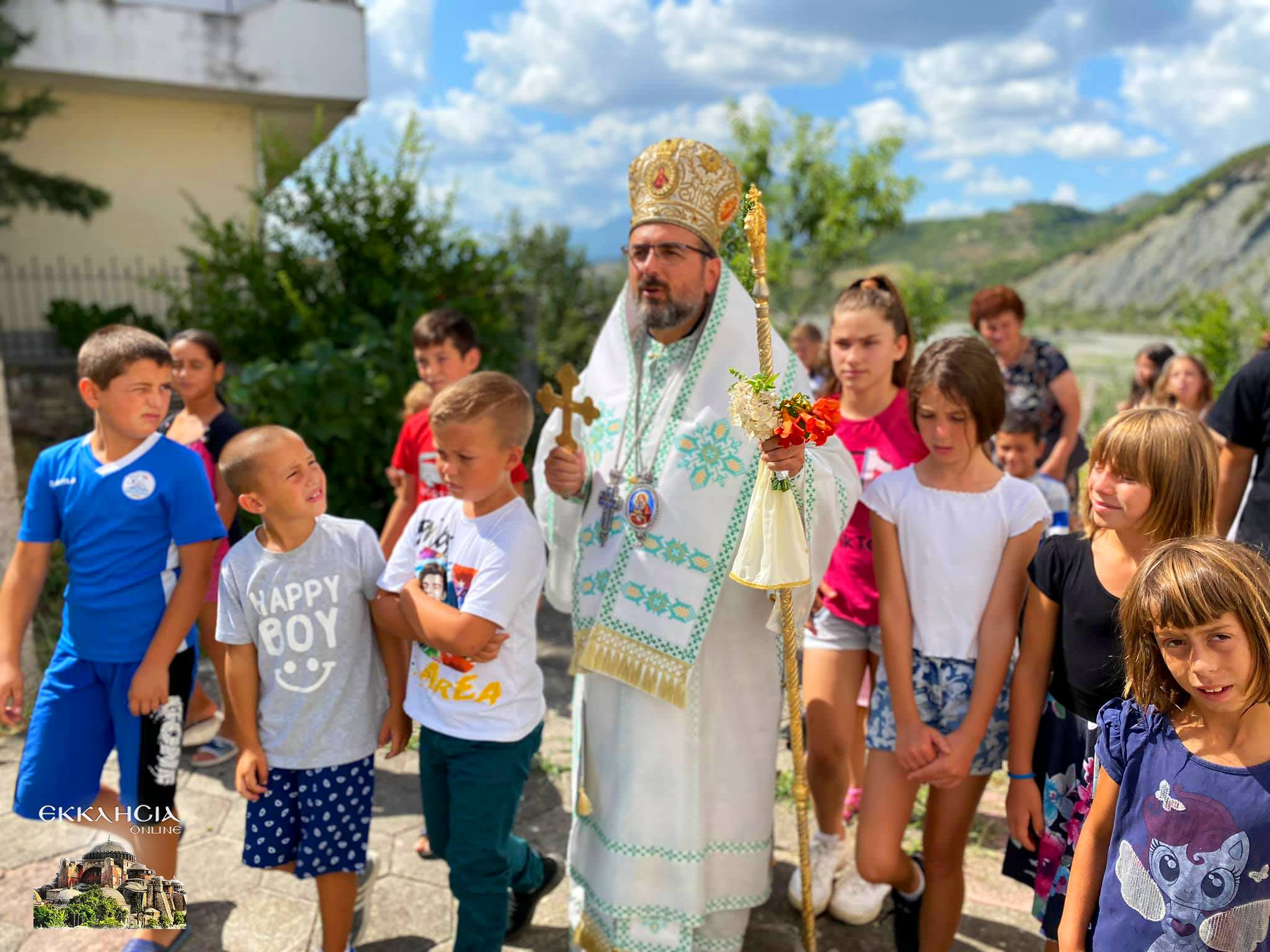 Λαμπρός εορτασμός της Μεταμόρφωσης του Σωτήρος στην Εκκλησία της Αλβανίας Μητρόπολη Ελμπασάν