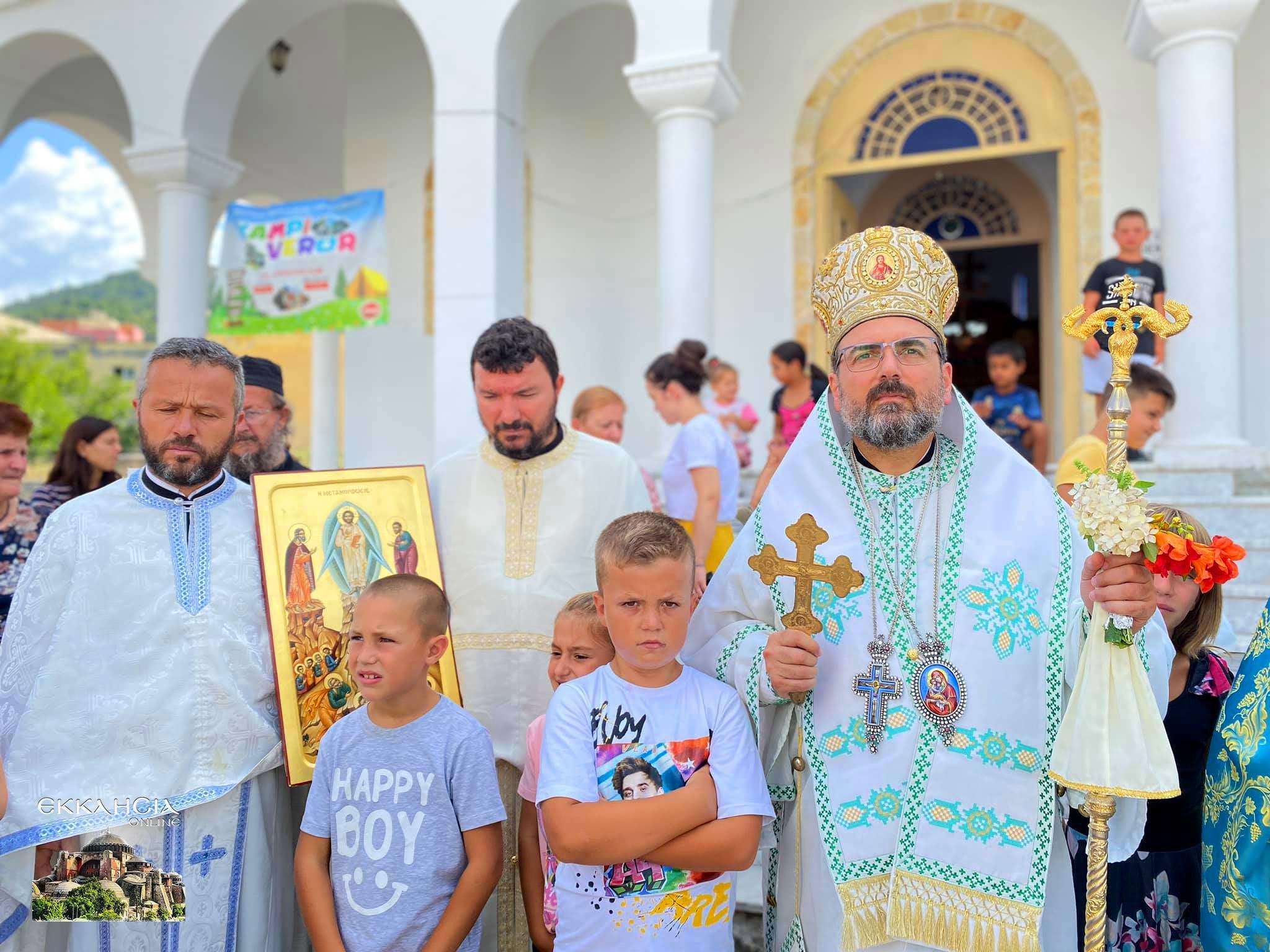 Λαμπρός εορτασμός της Μεταμόρφωσης του Σωτήρος στην Μητρόπολη Ελμπασάν