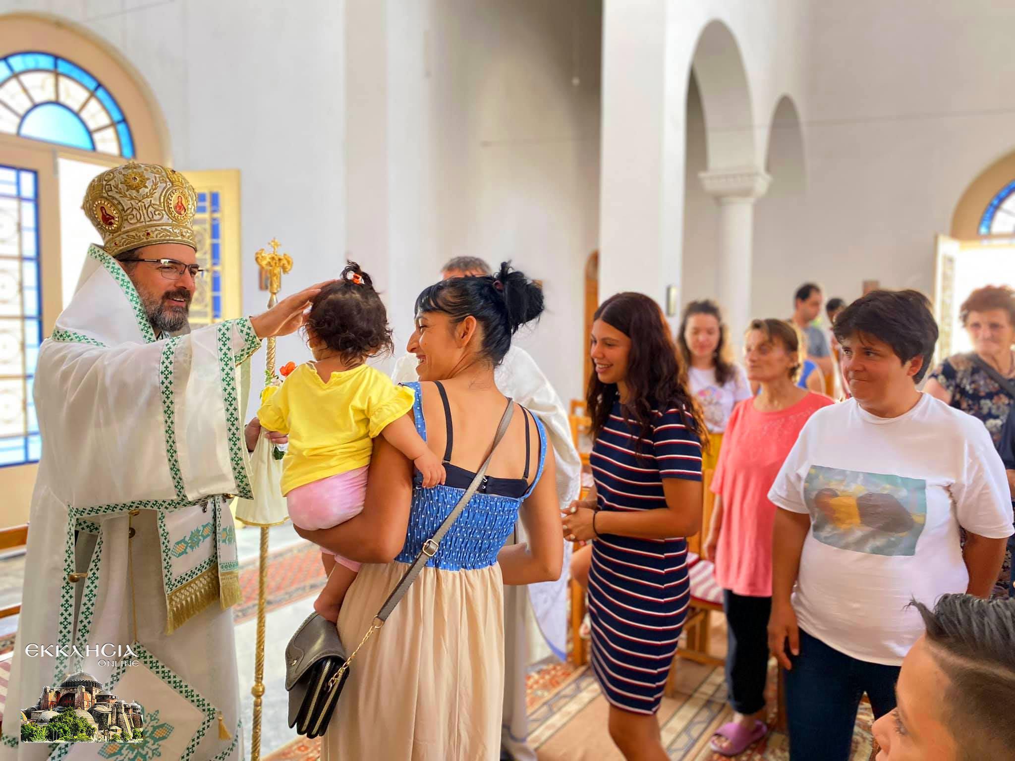 εορτασμός της Μεταμόρφωσης του Σωτήρος στην Μητροπολίτης Ελμπασάν