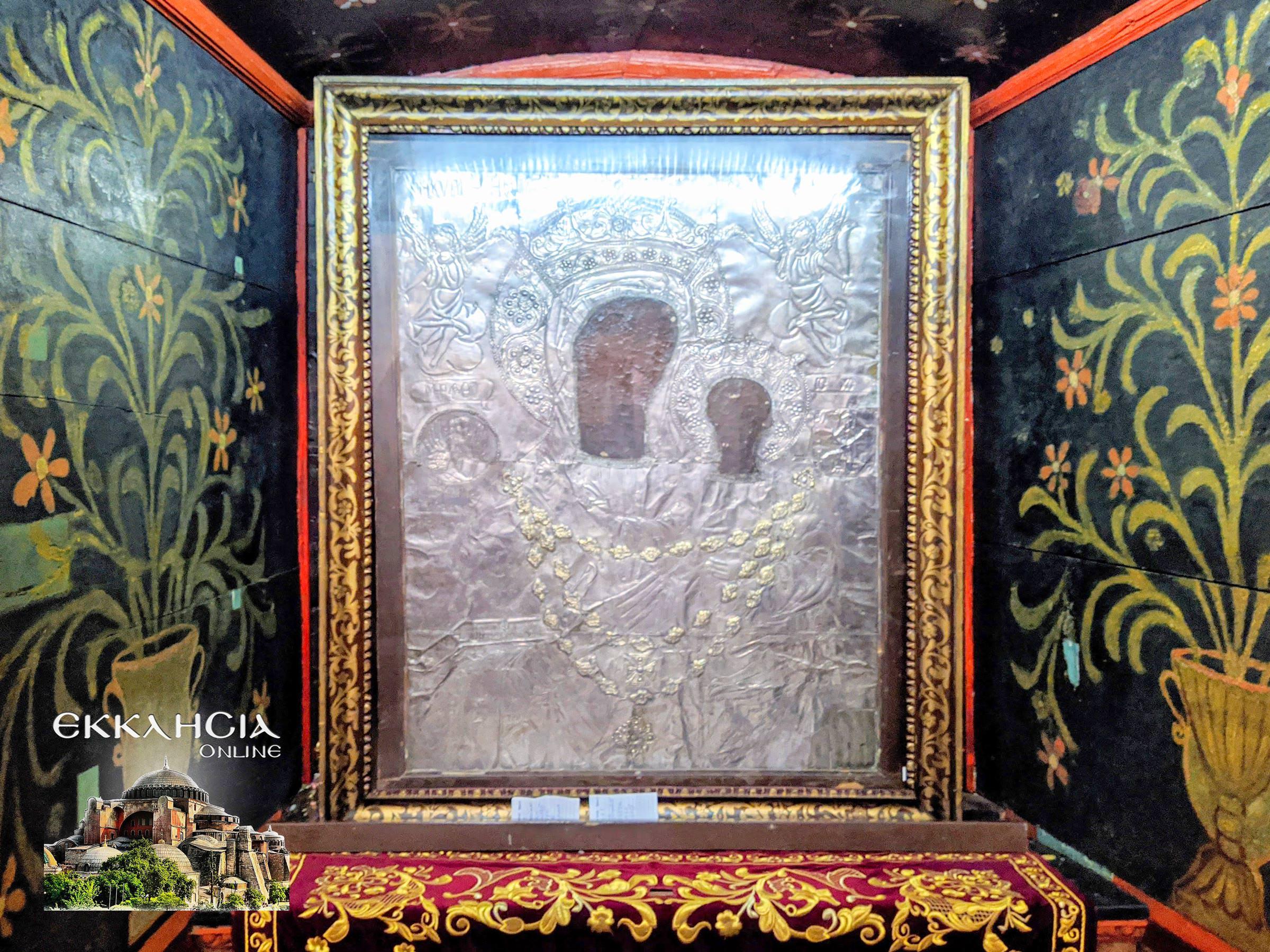 εικόνα της Παναγίας της Μυρτιδιώτισσας