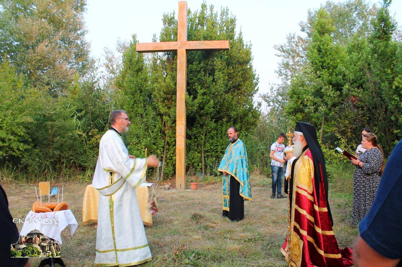 λιτανεία λειψάνου του Αγίου Κοσμά Αλβανία