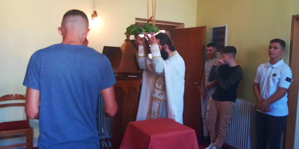 γιορτή Υψώσεως τιμίου Σταυρού Εκκλησιαστικό Λύκειο Αργυροκάστρου