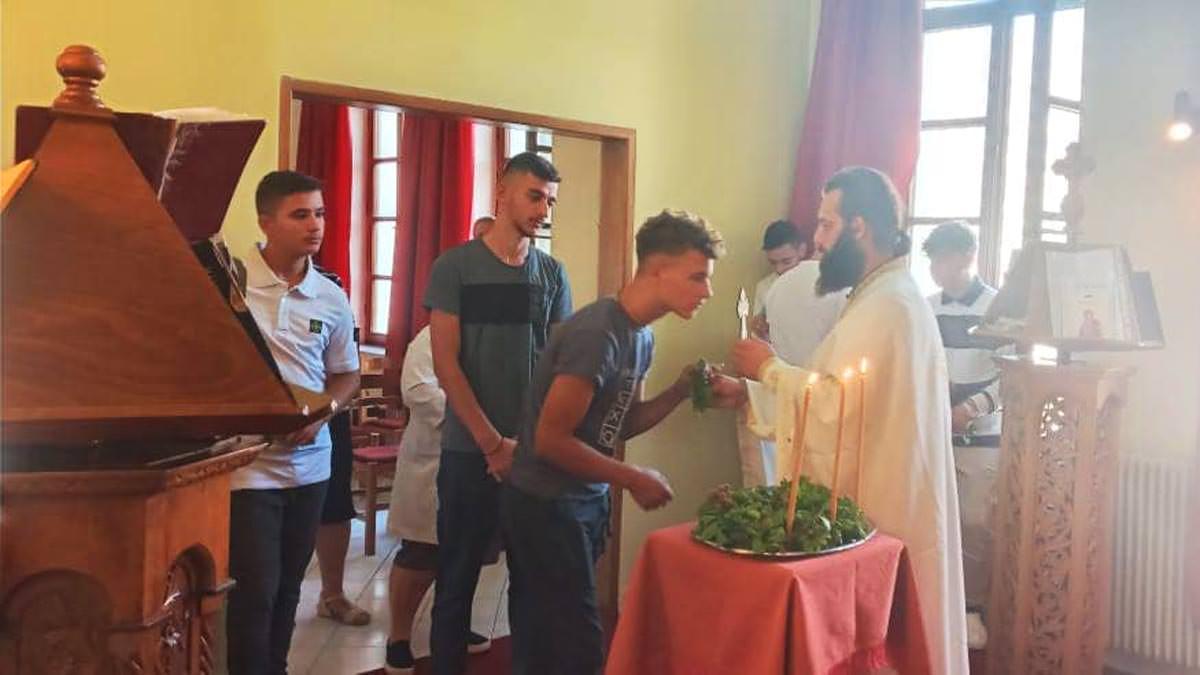 εορτή Υψώσεως τιμίου Σταυρού Εκκλησιαστικό Λύκειο Αργυροκάστρου