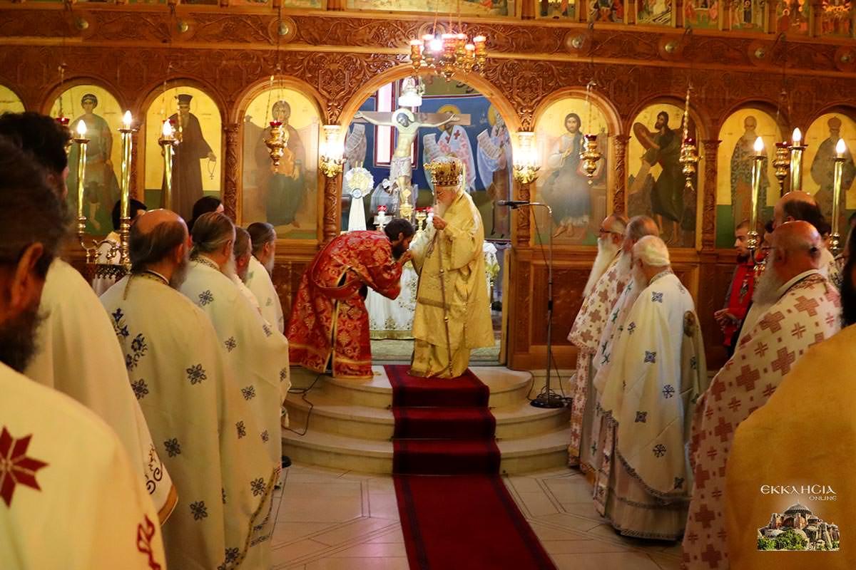 χειροτονία μοναχού Ισαάκ Μοναστήρι Μολυβδοσκεπάστου