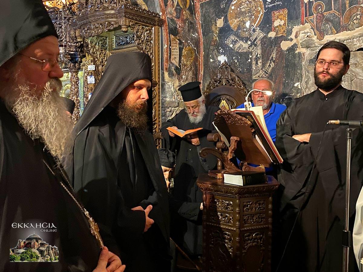 χειροτονία μοναχού Ισαάκ