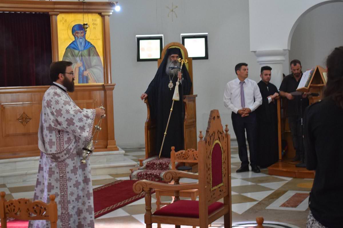 Μητροπολίτης Κινσάσας Νικηφόρος και το Εκκλησιαστικό Λύκειο Αργυροκάστρου