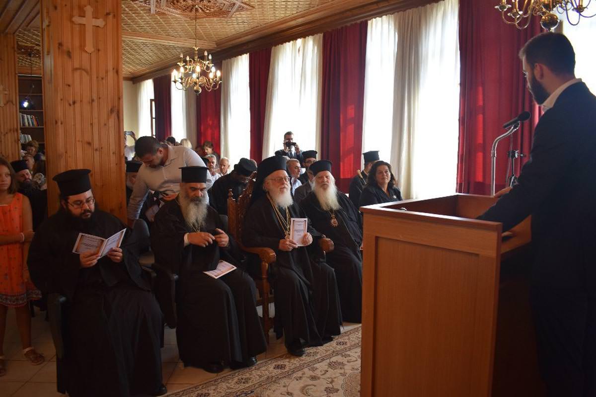 Αρχιεπίσκοπος Αλβανίας Αναστάσιος Αργυρόκαστρο
