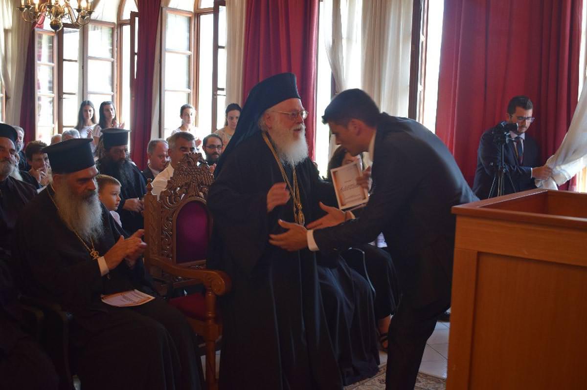 Αρχιεπισκοπος Αλβανιας Αναστασιος 2021
