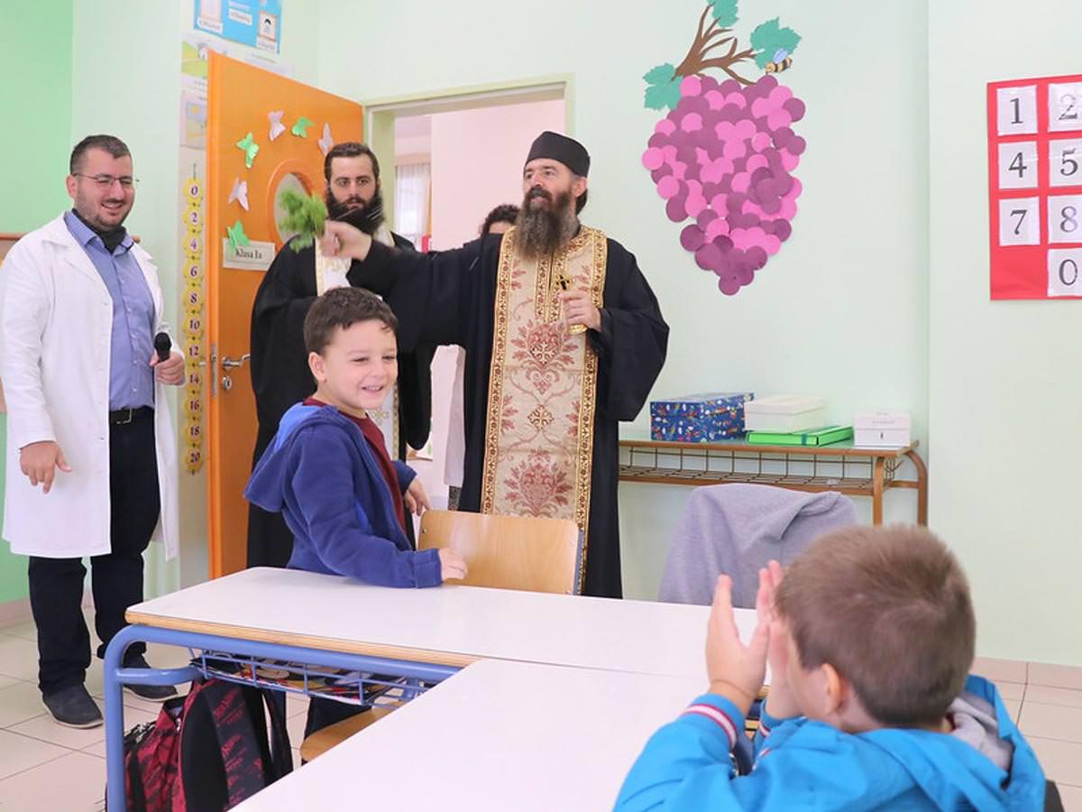 Αγιασμός για τη νέα χρονιά στα σχολεία της Εκκλησίας της Αλβανίας