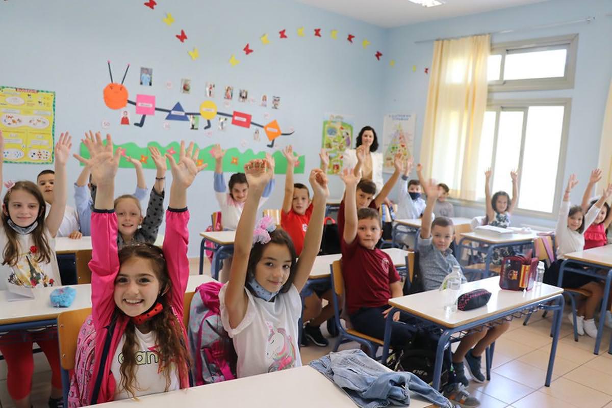 Αγιασμός στα σχολεία της Εκκλησίας της Αλβανίας